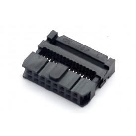 Conector para Flat Cable IDC com Aliviador de 16 vias 101-16TAK