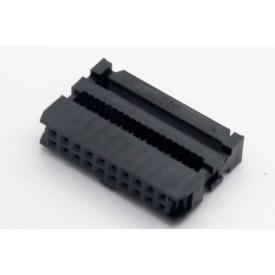 Conector para Flat Cable IDC com Aliviador de 20 vias 101-20TAK