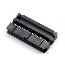 Conector para Flat Cable IDC com Aliviador de 26 vias 101-26TAK