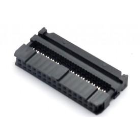 Conector para Flat Cable IDC com Aliviador de 30 vias 101-30TAK