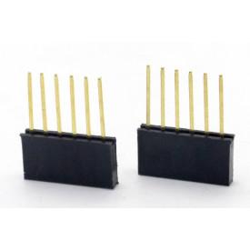 Conector Empilhável Compatível com Arduino 6 vias PRT-09279 - Pacote com 2 unidades