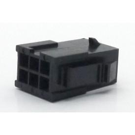 Alojamento Macho JS-3024-06 Micro fit passo 3.00mm 6 vias - 2x3