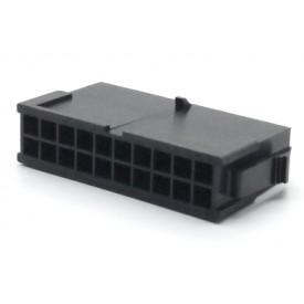 Alojamento Macho JS-3024-20 Micro fit passo 3.00mm 20 vias - 2x10