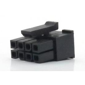 Alojamento Fêmea JS-3025-08 Micro fit passo 3.00mm 8 vias - 2x4