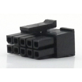 Alojamento Fêmea JS-3025-10 Micro fit passo 3.00mm 10 vias - 2x5