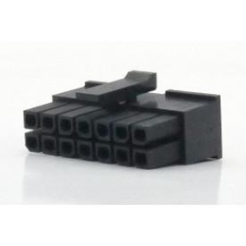 Alojamento Fêmea JS-3025-14 Micro fit passo 3.00mm 14 vias - 2x7