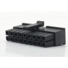 Alojamento Fêmea JS-3025-18 Micro fit passo 3.00mm 18 vias - 2x9