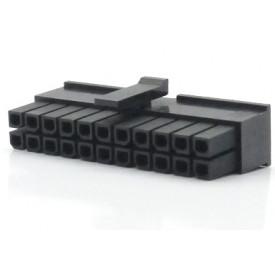 Alojamento Fêmea JS-3025-22 Micro fit passo 3.00mm 22 vias - 2x11