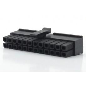 Alojamento Femea JS-3025-24 Micro fit passo 3.00mm 24 vias 2x12