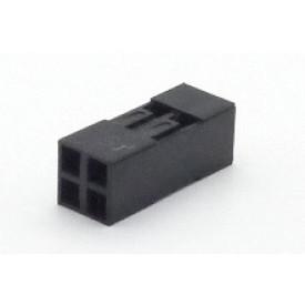 Alojamento Fêmea JS-1105-02x2 Modu Duplo Passo 2.54mm com 4 vias - 2x2