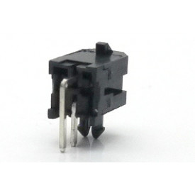 Conector  Macho JS-3027-02 90º Micro fit passo 3.00mm 2 vias - 2x1