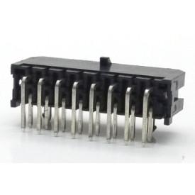 Conector  Macho JS-3027-16 90º Micro fit passo 3.00mm 16 vias - 2x8