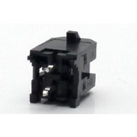 Conector  Macho JS-3026-02 180º Micro fit passo 3.00mm 2 vias - 2x1