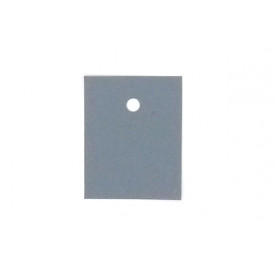 Isolante Silglass Cinza Adesivado TO92 com furo (Mica)