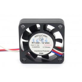 Microventilador Cooler RT-040 12VDC 5.000RPM 0.72 Watts (40x40x10mm) Rolamento - 11.104 - Nework