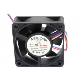 Microventilador Cooler RT-060 12VDC 3.600RPM 1.08 Watts (60x60x20mm) Rolamento - 13.104 - Nework