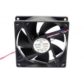 Microventilador Cooler RT-092 12VDC 2.500RPM 2.40 Watts (92x92x25mm) Rolamento - 15.104 - Nework