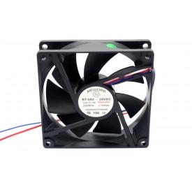 Microventilador Cooler RT-092 24VDC 2.500RPM 2.16 Watts (92x92x25mm) Rolamento - 15.106 - Nework