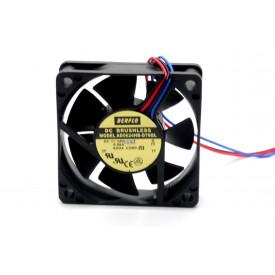 Microventilador Cooler AD0624HB-D76GL 24VDC 4.500RPM 2.16 Watts (60x60x15mm) Rolamento - BERFLO