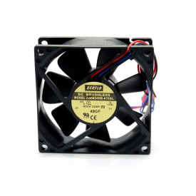 Microventilador Cooler AD0824HB-A76GL 24VDC 3.010RPM 3.84 Watts (80x80x25mm) Rolamento - BERFLO