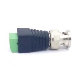 Plug BNC Macho para Borne 2 Vias - FL-05