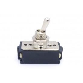 Interruptor de Alavanca Metálica Bipolar 10A CS-301C LIGA/DESLIGA JL25022 - Margirius