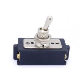 Interruptor de Alavanca Metálica Bipolar 15A CS-301B LIGA/DESLIGA  - Margirius