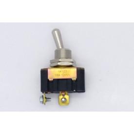 Interruptor de Alavanca Metálica Unipolar 15A 14.123 LIGA/DESLIGA JL25083 - Margirius