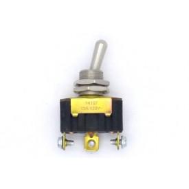 Interruptor de Alavanca Metálica Unipolar 15A 14.107 LIGA/DESLIGA/(LIGA) Momentânea JL27002 - Margirius