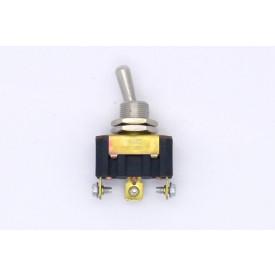 Interruptor de Alavanca Metálica Unipolar 15A 14.103 LIGA/DESLIGA/LIGA A1B1P1Q - Margirius