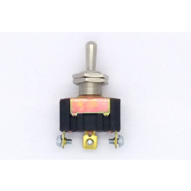 Interruptor de Alavanca Metálica Unipolar 15A 14.105 (LIGA)/DESLIGA/(LIGA) Momentânea JL25068 - Margirius