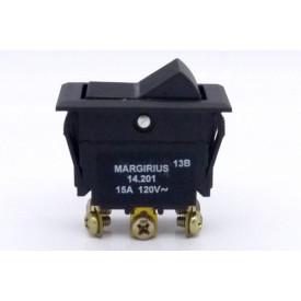 Interruptor de Tecla Plástica Bipolar 15A 14.201 LIGA/LIGA JL25070 - Margirius
