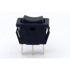 Interruptor de Tecla Plástica Unipolar 6A 16.105 (LIGA)/(LIGA) Momentânea MFTFE2S - Margirius