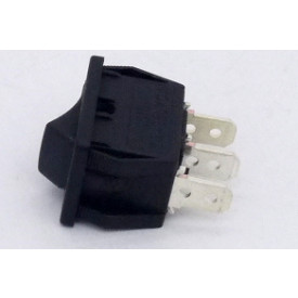 Interruptor de Tecla Plástica Unipolar 6A 16.107 (LIGA)/DESLIGA Momentânea MFTFE2S - Margirius