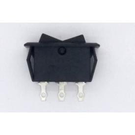 Interruptor de Tecla Plástica Unipolar 10A 15.105 (LIGA)/DESLIGA/(LIGA) Momentânea - Margirius