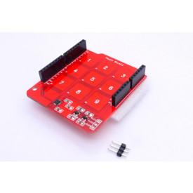 Módulo de sensor de toque capacitivo Mini Teclado 3x3 MPR121 Compatível com Arduino - GC-07