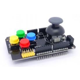 Módulo de Joystick para Games Shield Compatível com Arduino com botões coloridos - GC-05