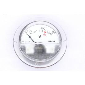 Voltímetro Analógico Sistema Ferro Móvel (CA) TO65 com escala até 250V Tensão Alternada