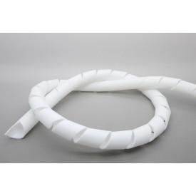 Organizador para Cabos Espiral 1'' Branco - Hellermann - Preço Por Metro