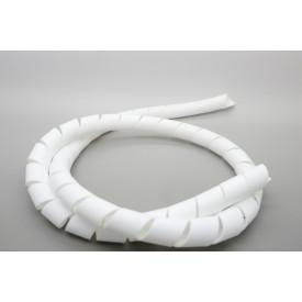 Organizador para Cabos Espiral 3/4'' Branco - Hellermann - Preço Por Metro