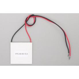 Pastilha Peltier 40X40mm 15.4V 5A 44.5W - HTC-40-05-15.4