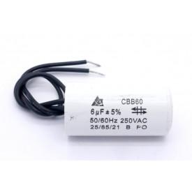 Capacitor de Partida 6uf/250VAC 50/60Hz +-5%