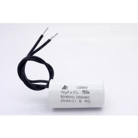 Capacitor de Partida 10uf/250VAC 50/60Hz +-5%