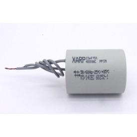 Capacitor de Partida 15uf/400VAC 50/60Hz +-5% - XARP