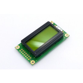 Display LCD 08x02 Verde com Luz de Fundo (Back Light) WH-0802A-YYH-JT - Winstar