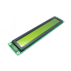Display LCD 20x02 Big Number Verde sem Luz de Fundo (Back Light) WH-2002L-NYG-JT - Winstar