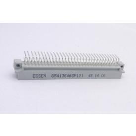 Conector Euro Macho A/C - 64 vias 90° C64M53A6000