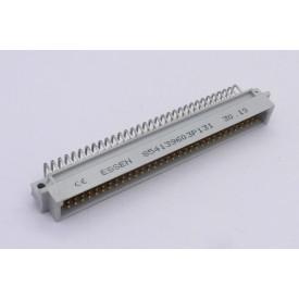 Conector Euro Macho A/B/C - 96 vias 90° C96M53A1000