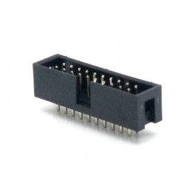 Conector Header perfil baixo 20 vias 180° 103-20GSK - Penzel