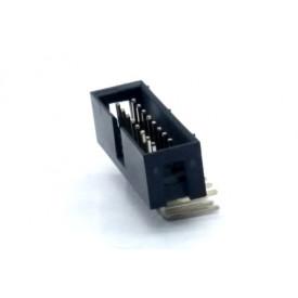 Conector Header perfil baixo 16 vias 90° 103-16GRK - Penzel
